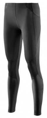 Skins A400 Womens Long Tights Skyscraper Black