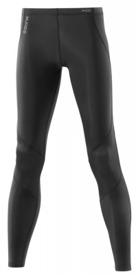 Skins A400 Womens Black/Silver Long Tights
