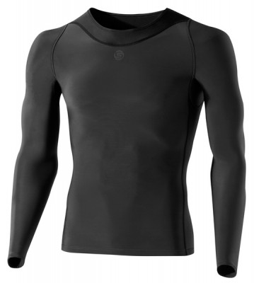 Skins Bio RY400 Mens Graphite Top Long Sleeve