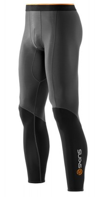 Skins Bio S400 - Thermal Mens Black/Graphite/Orange Long Tights