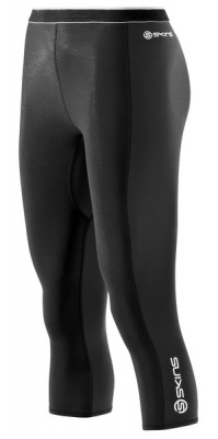 Skins Bio S400 - Thermal Womens Black/Graphite/White 3/4 Tights