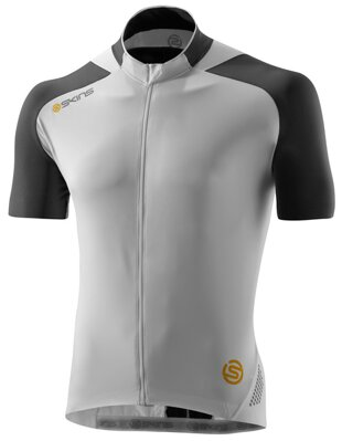 Skins Cycle  Mens White/Grey S/S Jersey