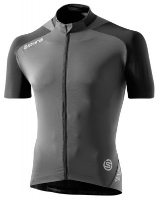 Skins Cycle  Mens Black/Grey S/S Jersey