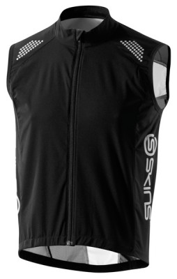 Skins Cycle  Mens Black/Grey Wind Vest