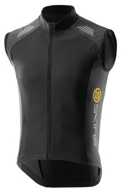 Skins Cycle Mens Black/Graphite Thermal Vest