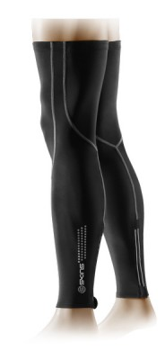 Skins Cycle Essentials Compression Black/Grey Leg Sleeves