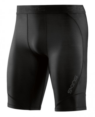 Skins DNAmic Mens Half Tights Black/Black