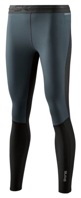 Skins DNAmic Thermal Windproof Womens Long Tights Black/ Charcoal
