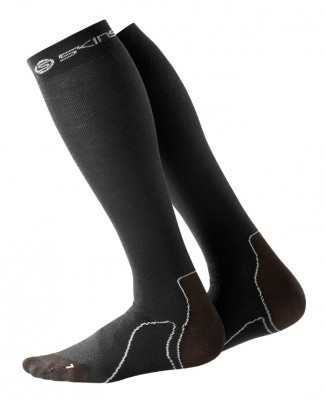 Skins Essentials Mens Recovery Comp Socks  Black