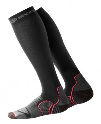Skins Essentials Womens Comp Socks Active Black/Atomic