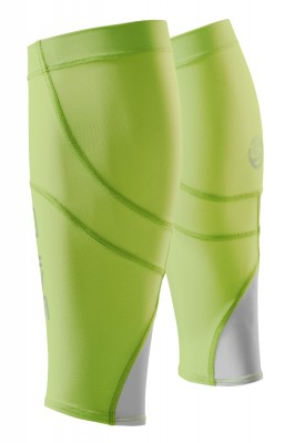 Skins Unisex Calftights mx Fluro Apple