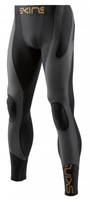SKINS K-PROPRIUM Men's Compression Long Tights Black/Charcoal