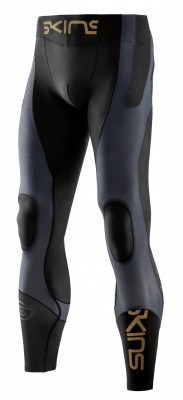 SKINS K-PROPRIUM Men's Compression Long Tights Black/Carbon
