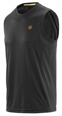 Skins NCG Mens Sphere Tank Black