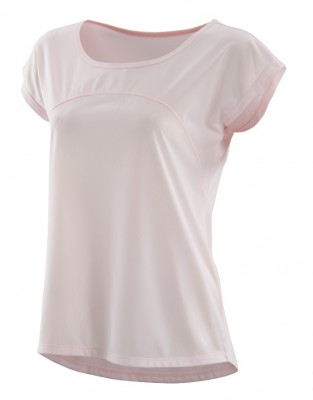 SKINS Activewear Code Cap Womens S/S Top Champagne/Marle