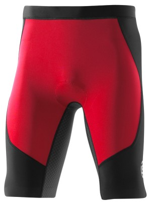 Skins TRI 400 Mens Black/Red Shorts