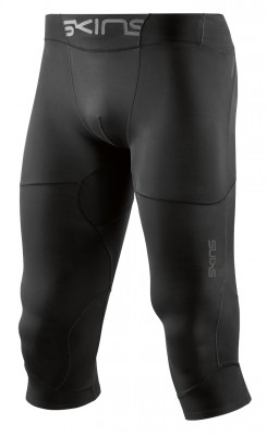 Skins DNAmic Ultimate (A400) Mens 3/4 Tights Black - kompresní kalhoty