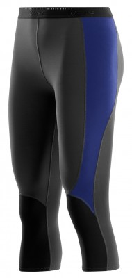 "Skins S400 Thermal Womens Graphite/Black 3/4 Tights - pouze velikost ""S"""