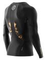 Skins A400  Mens Gold Top Long Sleeve