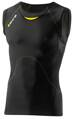 Skins Bio A400 Mens Black/Yellow Top Sleeveless