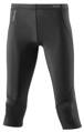 Skins A400 Womens Black/Silver 3/4 Tights