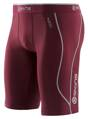 "Skins Bio A200 Mens Maroon half tights - pouze ""S"""