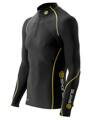 Skins Bio A200 Mens Black/Yellow  Therml L/S Mck Ne