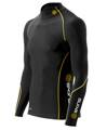 Skins Bio A200 Mens Black/Yelow Therml L/S Mck Neck
