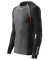 Skins Bio S400 - Thermal Mens Black/Graphite/Orange L/S T