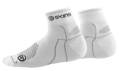 Skins Performance Socks Quarter Length White