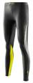 Skins DNAmic Womens Long Tights Black/Limoncello