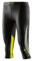 Skins DNAmic Womens 3/4 Tights Black/Limoncello