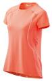 SKINS PLUS Phoenix Womens Fitted Tee Atomic Tangerine